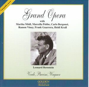 GRAND OPERA - New York 1958 - L. Bernstein -Verdi, Puccini,  Wagner -Opera Collection