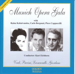 MUNICH OPERA GALA with R. Kabaivanska, K. Eichhorn - Munich 1970 - Verdi,  Puccini, etc...-Opera Collection