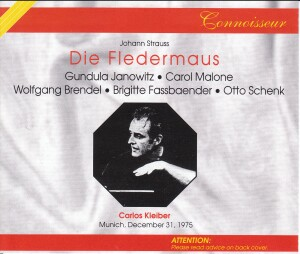 J. STRAUSS  - Die Fledermaus (The Bat), operetta (RV 503) - München 1975 - C. Kleiber-Operetta Collection