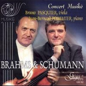Brahms, Schumann - Works for viola and piano