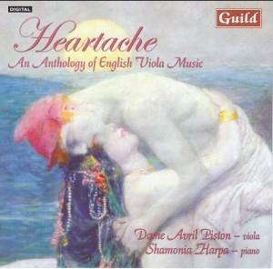 Heartache - An Anthology of English Viola Music-Piano