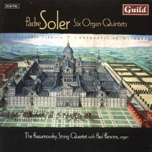 Soler: Six Organ Quintets / Paul Parsons, organ-Organ-Chamber Music