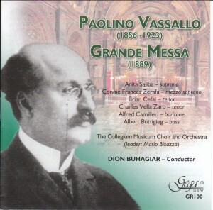 Paolino Vassallo - Grande Messa-Voices and Orchestra-Vocal Collection