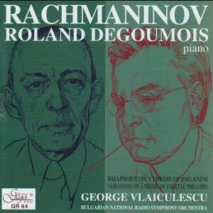 SERGEI RACHMANINOV - ROLAND DEGOUMOIS, piano-Piano