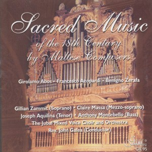 Sacred Music Of The 18th Century-Liturgy