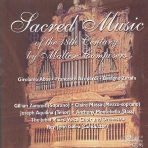 Sacred Music Of The 18th Century-Liturgy