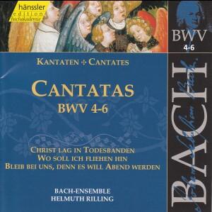 J. S. Bach - V 2: Cantatas (BWV 4,5,6)-Choir-Sacred Music