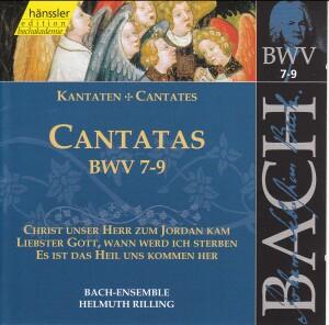 J. S. Bach - V 3: Cantatas (BWV 7,8,9)-Choir-Sacred Music
