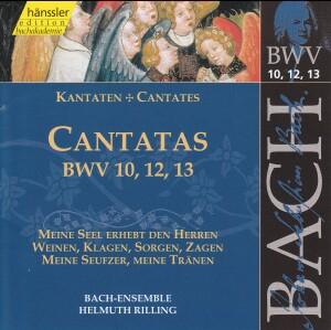 J. S. Bach - V 4: Cantatas (BWV 10,12,13)-Choir-Sacred Music