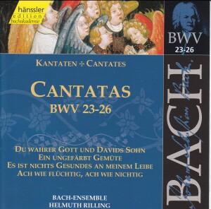J. S. Bach - V 8: Cantatas (BWV 23/24/25/26)-Choir-Sacred Music