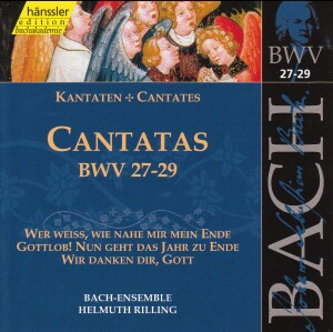 J. S. Bach - V 9: Cantatas (BWV 27/28/29)-Sacred Music