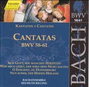 J. S. Bach - V 12: Cantatas (BWV 35/36/37)-Sacred Music