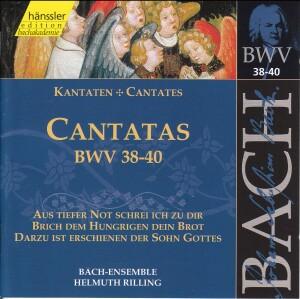 J. S. Bach - V 13: Cantatas (BWV 38/39/40)-Sacred Music