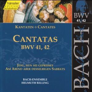 J. S. Bach - V 14: Cantatas (BWV 41/42)-Sacred Music