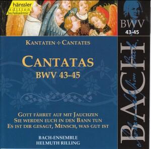 J. S. Bach - V 15: Cantatas (BWV 43/44/45)-Sacred Music