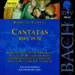 J. S. Bach - V 17: Cantatas (BWV 49/50/51/52)-Sacred Music