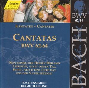 J. S. Bach - V 20: Cantatas (BWV 62/63/64)-Sacred Music