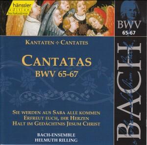 J. S. Bach - V 21: Cantatas (BWV 65/66/67)-Sacred Music