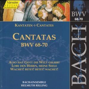 J. S. Bach - V 22: Cantatas (BWV 68/69/70)-Sacred Music