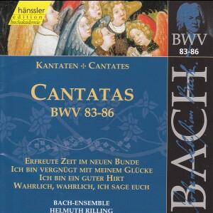 J. S. Bach - V 27: Cantatas (BWV 83/84/85/86)-Sacred Music