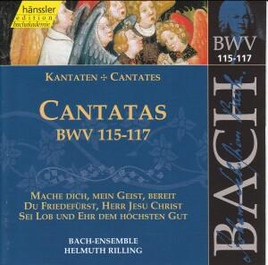 J. S. Bach - V 37: Cantatas (BWV 115/116/117)-Sacred Music