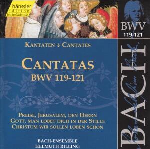 J. S. Bach - V 38: Cantatas (BWV 119/120/121)-Sacred Music