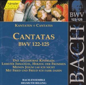 J. S. Bach - V 29: Cantatas (BWV 122/123/124/125)-Choir-Sacred Music