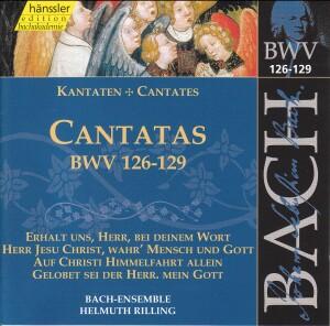J. S. Bach - V 40: Cantatas (BWV 126/127/128/129)-Sacred Music