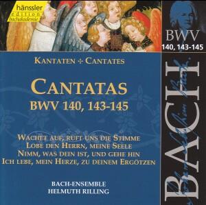 J. S. Bach - V 44: Cantatas (BWV 140/143/144/145)-Sacred Music