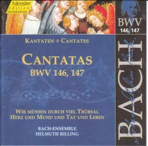 J. S. Bach - V 45: Cantatas (BWV 146/147)-Sacred Music