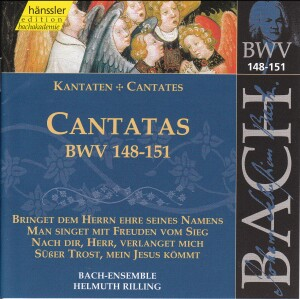 J. S. Bach - V 46: Cantatas (BWV 148/149/150/151)-Sacred Music
