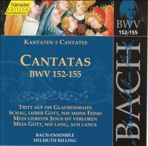 J. S. Bach - V 47: Cantatas (BWV 152/153/154/155)-Sacred Music