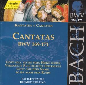 J. S. Bach - V 51: Cantatas (BWV 169/170/171)-Sacred Music