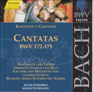 J. S. Bach - V 52: Cantatas (BWV172/173/174/175)-Sacred Music
