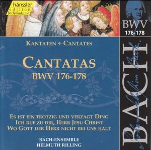 J. S. Bach - V 53: Cantatas (BWV 176/177/178)-Sacred Music