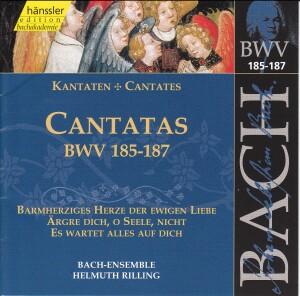 J. S. Bach - V 56: Cantatas (BWV 185/186/187)-Sacred Music