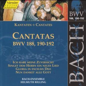 J. S. Bach - V 57: Cantatas  (BWV188/190/191/192)-Sacred Music