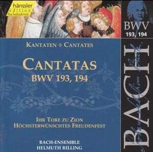J. S. Bach - V 58: Cantatas (BWV 193/194)-Sacred Music