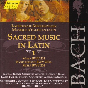 J. S. Bach - V 1: Sacred Music in Latin-Sacred Music