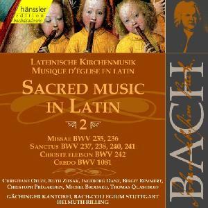J. S. Bach - V 2: Sacred Music in Latin-Sacred Music