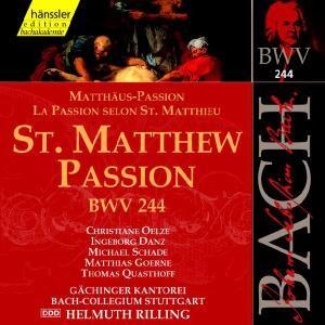 J. S. Bach - St. Matthew Passion (BWV 244)-Sacred Music