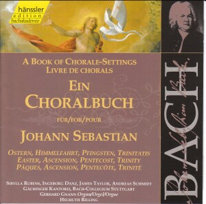 J. S. Bach - Book of Chorale-Settings for J.S. (Easter, Ascension, Pentecost, Trinity))-Sacred Music