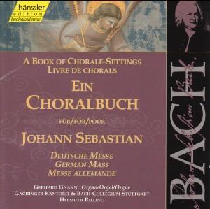 J. S. Bach - Book of Chorale-Settings for J. Sebastian (German Mass)-Sacred Music