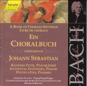 J. S. Bach - Book of Chorale-Settings for J. Sebastian (Incidental Festivities, Psalms)-Sacred Music