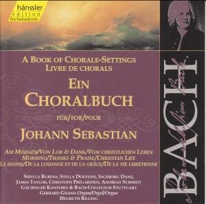 J. S. Bach - Book of Chorale-Settings for J. S. (Morning,Thanks&Praise,Chr. Life)-Sacred Music