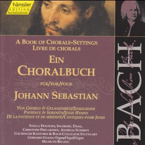 J. S. Bach - Book of Chorale-Settings for J. Sebastian (Patience&Serenity, Jesus Hymns)-Sacred Music