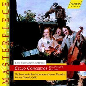 L. Boccherini - Cello Concertos: Reiner Ginzel-Instrumental
