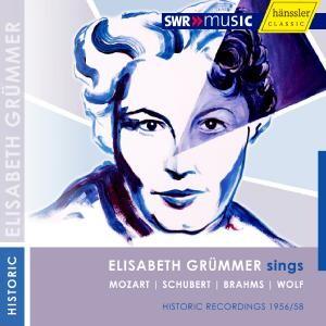 Elisabeth Grümmer sings Mozart Wolf Brahms Schubert-Voices and Chamber Ensemble