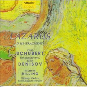 F. Schubert, E. Denisov - Lazarus D 689 Fragment-Sacred Music