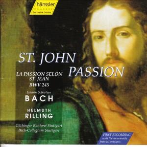 J.S. Bach - St. John Passion BWV 245 - HILMUTH RILLING-Sacred Music